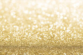 Gold glitter background — 图库照片