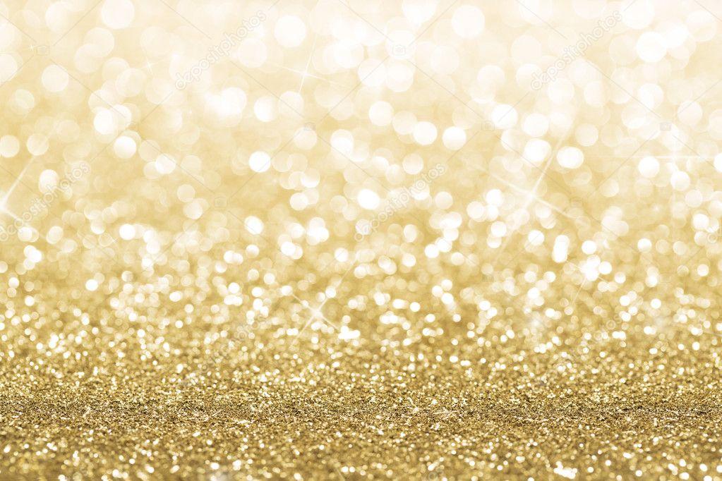 Gold Glitter Vector Gold Defocused Glitter