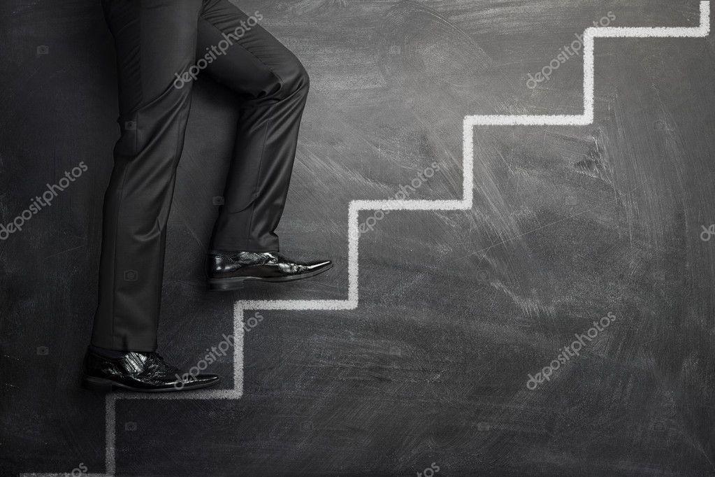爬在职业生涯的步骤