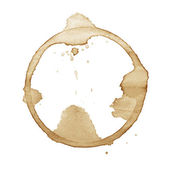 Coffee stain — Foto Stock