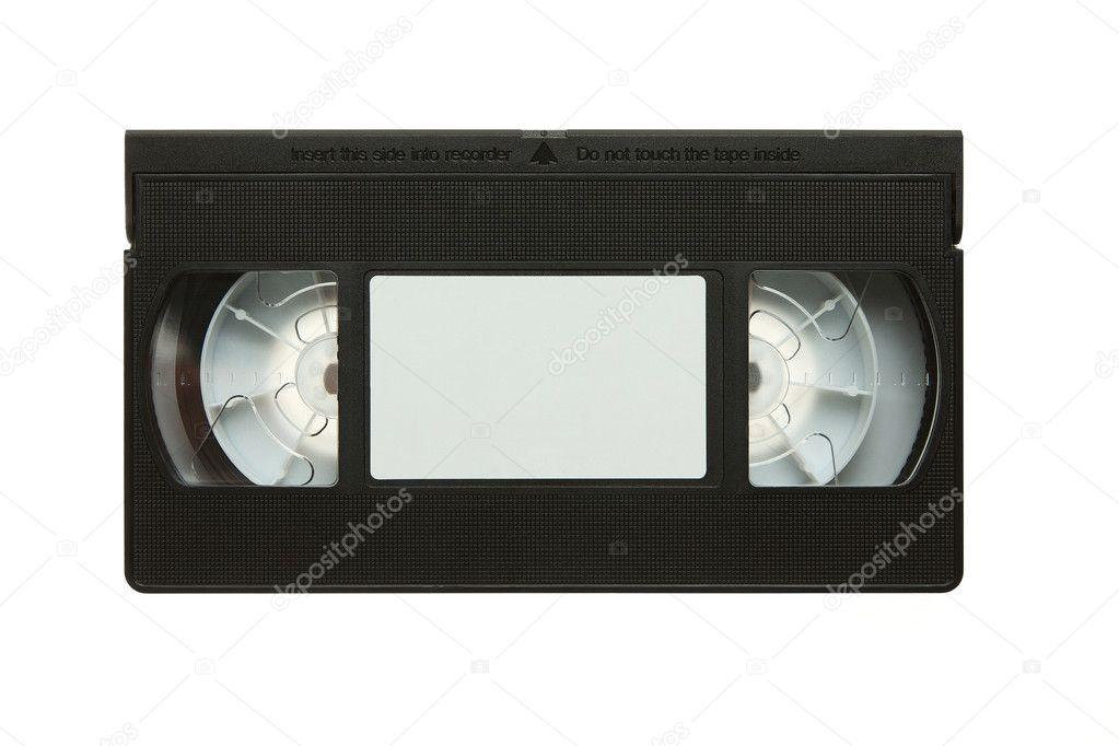 cassette vid o cassette vhs vierge r tro photographie. Black Bedroom Furniture Sets. Home Design Ideas