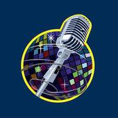Microphone — Stock Vector