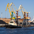Stock Photo: Ship port harbor