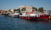 Ship port harbor — Stock Photo