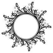 Circle decorative frame — 图库矢量图片