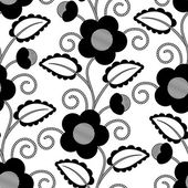 Flower Pattern — Vector de stock
