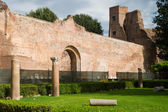 The Baths of Diocletian (Thermae Diocletiani) in Rome — Foto Stock