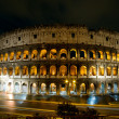 Colosseum at night, Rome, Italy — Stock Photo #13702916
