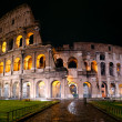 Stock fotografie: Colosseum at night, Rome, Italy