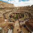 Inside of Colosseum in Rome, Italy — Stock Photo #13704425