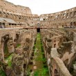 Inside of Colosseum in Rome, Italy — Stock Photo #13704481