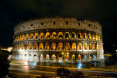 Colosseum at night, Rome, Italy — Stock Photo