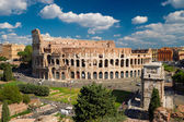 View of the Colosseum in Rome, Italy — Stock Photo