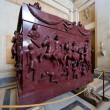 Stock Photo: Porphyry sarcophagus of family of Emperor Constantine Gr