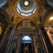 Stock Photo: Interior of St. Peters Basilica, Rome, Italy