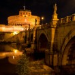 Stock Photo: Sant'Angelo castel and bridge, Rome