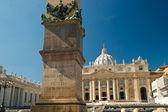サンピエトロ広場、ローマ — ストック写真