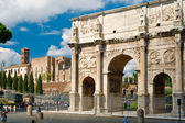 Antique arch of Constantine, Rome — Stock Photo