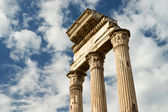 Temple of Castor & Pollux at Roman Forum, Rome, Italy — Stock Photo