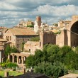View of the Roman Forum in Rome, Italy — Foto Stock