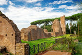 Ancient ruins at the Palatine Hill in Rome, Italy — Stock Photo