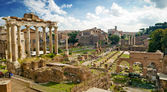 View of the Roman Forum in Rome, Italy — Stock Photo
