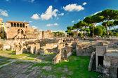 The forum of Trajan in Rome, Italy — Stock Photo