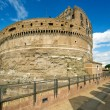 Emperor Adrian's Mausoleum in Castel Sant'Angelo, Rome - Stock Photo