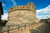 Emperor Adrian's Mausoleum in Castel Sant'Angelo, Rome — Stock Photo