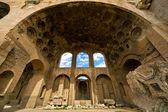Bazylika maksencjusza i konstantyna w rzymie — Zdjęcie stockowe