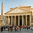 Royalty-Free Stock Photo: Tourists visiting the Pantheon on october 2, 2012 in Rome, Italy