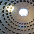 Internal part of dome in Pantheon, Rome, Italy — Stock Photo