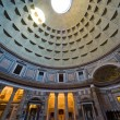 Inside the Pantheon, Rome, Italy — Stock Photo
