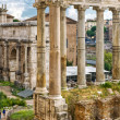 Roman antiquity: Roman Forum in Rome, Italy — Stock Photo