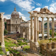Roman Forum in Rome — Stock Photo #15691623