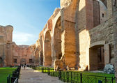 The Baths of Caracalla, Rome — Stock Photo