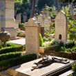 Non-Catholic cemetery in Rome, Italy — Stock Photo