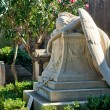 Stock Photo: Tomb in non-Catholic cemetery in Rome