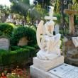 Stock Photo: Non-Catholic cemetery in Rome, Italy