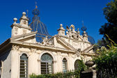 Hermoso edificio en la villa borghese en roma — Foto de Stock