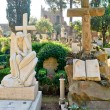 Non-Catholic cemetery in Rome, Italy — Stock Photo #18270129