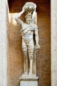 Statue of the Roman god of the Faun in Rome, Italy — Stock Photo