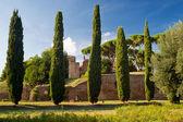 Pitorescas ruínas romanas em roma, itália — Foto Stock