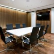 Business meeting room in modern office — Stock Photo