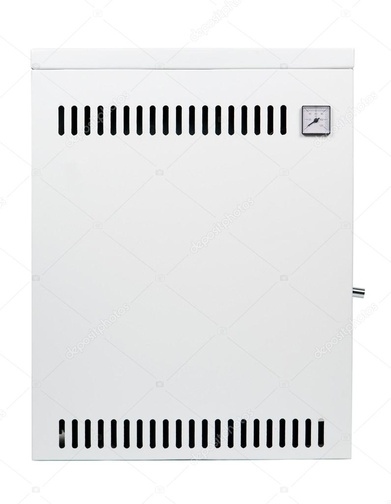 A residential gas heater, isolated on white — Stock Photo #19025817