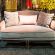 Beautiful sofa in a furniture store — Stock Photo #23537123