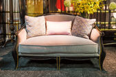 Beautiful sofa in a furniture store — Stock Photo