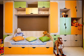 A beautiful modern children's room — Stock Photo
