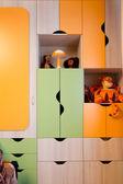 Children's room furniture — Stock Photo