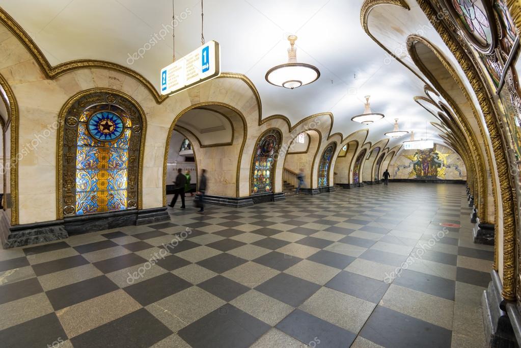 Самое красивое метро в мире  отзыв о Московский